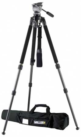 DS20 Solo DV Carbon Fiber Tripod/Fluid Head System