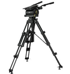 Heavy Duty HDT2 tripod with mid-level spreader.