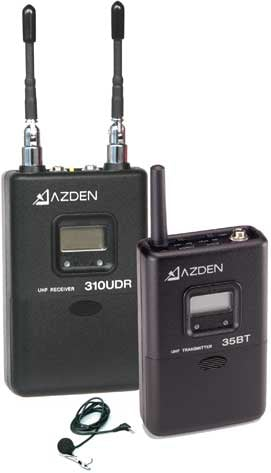 Azden 310LT  UHF On-Camera Wireless Body-Pack System 310LT