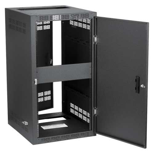 "30"" Deep Cabinet, 24RU (Shown with Optional Door, Not Included)"