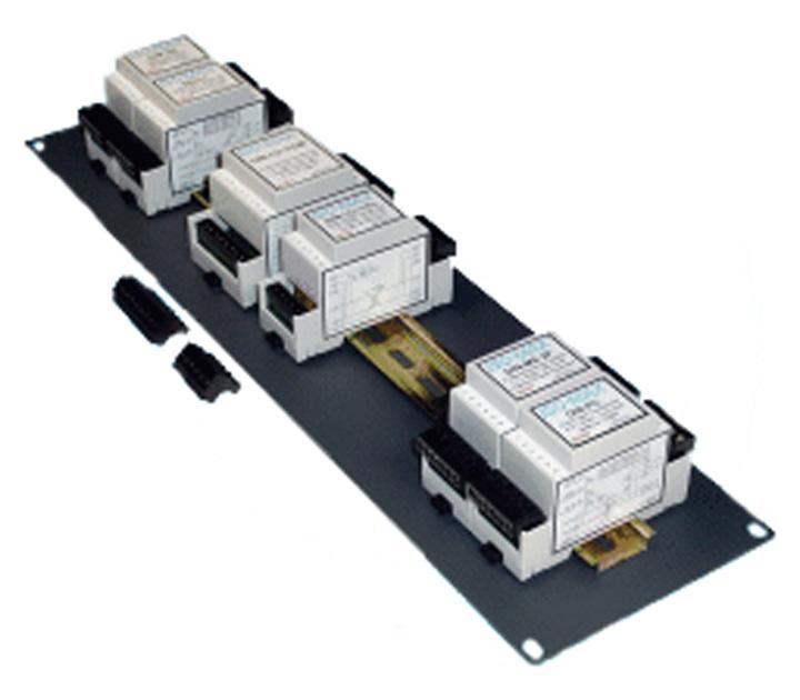 DIN Rail Line Output Module
