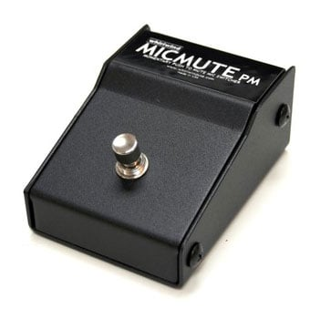 Whirlwind MicMute PM Microphone Foot Pedal Mute Switch with Momentary Push to Mute MICMUTE-PM
