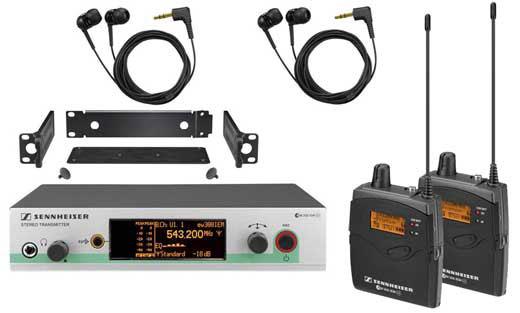 Sennheiser EW 300-2 IEM G3 In-Ear Monitor System EW3002IEM-G3