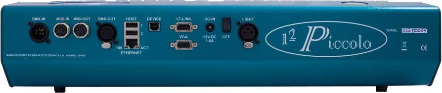 192-Channel Piccolo Lighting Console (with VGA Video Option, Power Supply & Dust Cover)