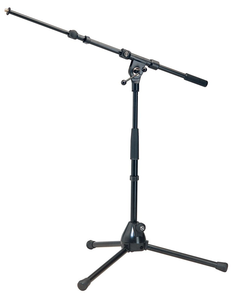 "20""-28"" Microphone Stand with 18""-30"" Telescoping Boom"