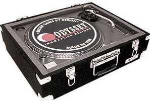 Odyssey CTTE  Carpeted Turntable Case  CTTE
