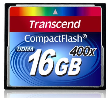 16GB 400X Premium Compact Flash Card