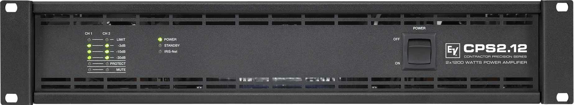 Power Amplifier, 2-Channel, 2 x 1100W @ 4 ohms