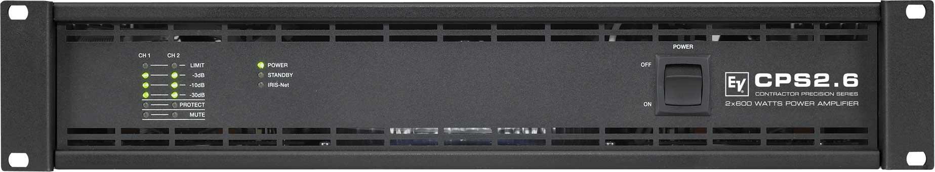 Power Amplifier, 2-Channel, 2 x 500W @ 4 ohms