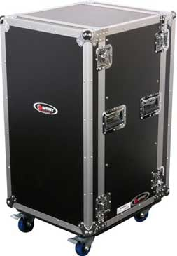 Odyssey FZAR20W  20 RU Amp Rack Case with Wheels FZAR20W