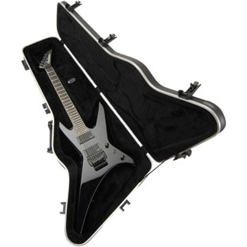 Hardshell Electric Guitar Case for Pointed Offset Guitars