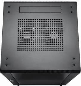 27 RU Enclosed Rack (Black)
