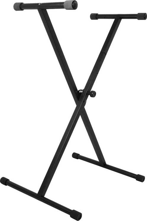Single-Braced X-Style Keyboard Stand