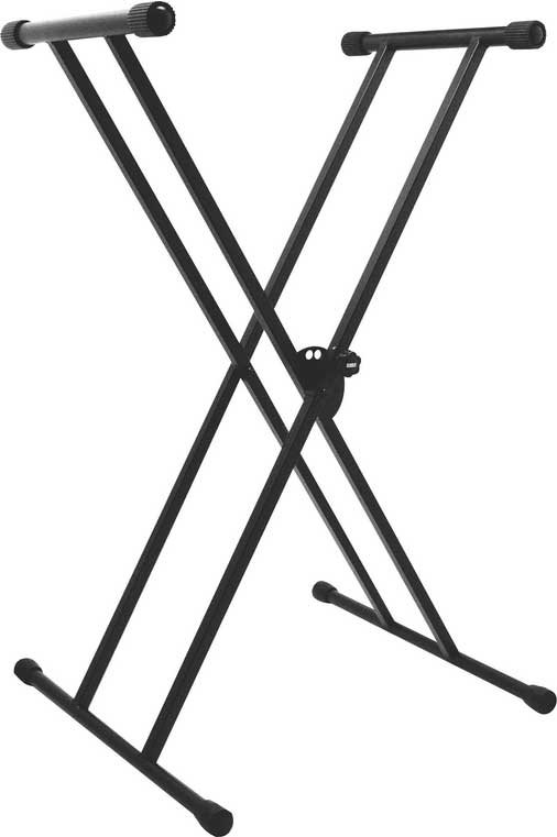 On-Stage Stands KS7191 Double-Braced  X-Style Keyboard Stand KS7191