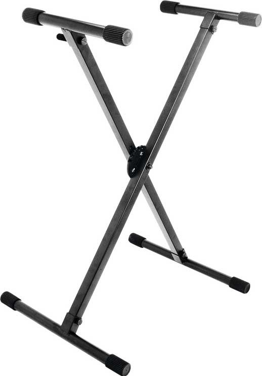 On-Stage Stands KS8290 Single-Braced X-Style Keyboard Stand with ERGO-LOK System KS8290
