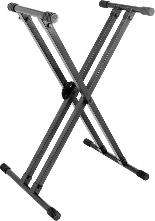 Double-Braced X-Style Keyboard Stand with EGRO-LOK System