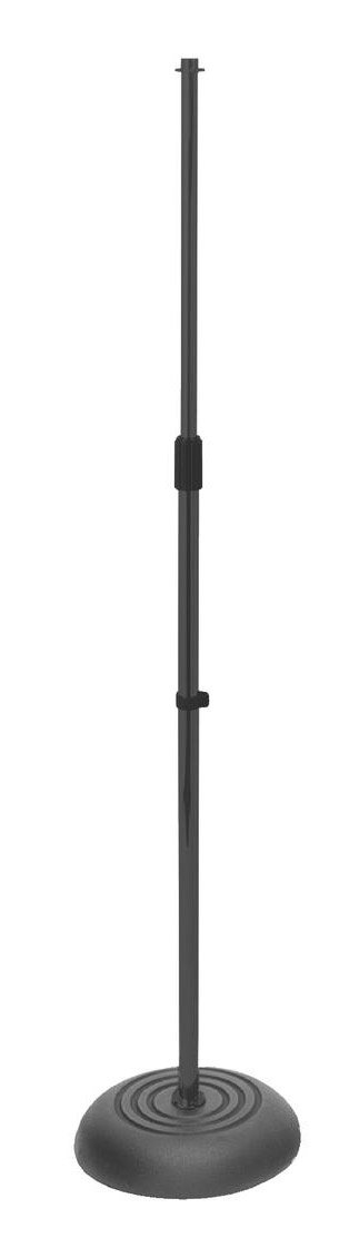 """33""""-60"""" H Adjustable Microphone Stand with Round Base"""