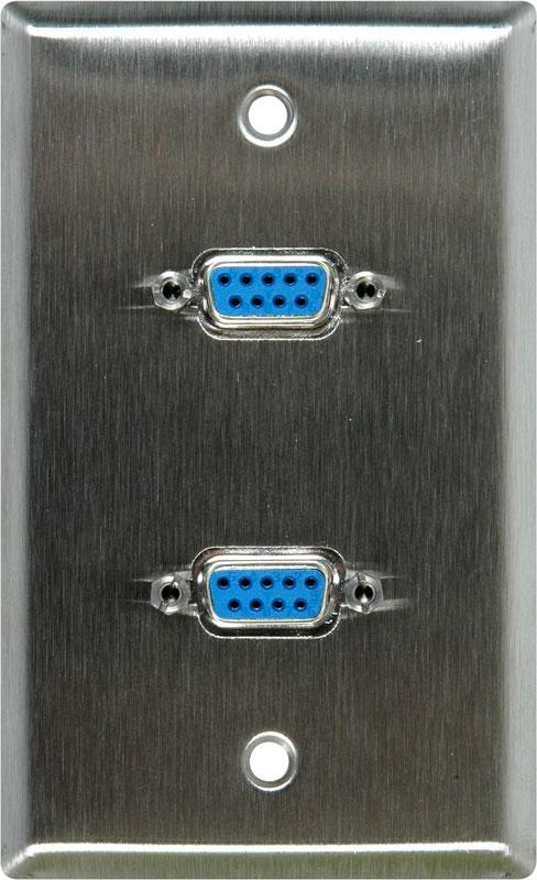 Connectors, Dual VGA Pass Thru
