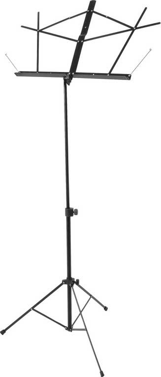 Compact Music Stand in Nickel