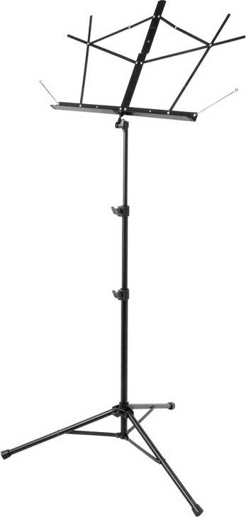 Tripod Base Music Stand in Black