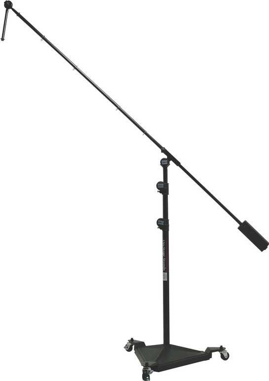 "On-Stage Stands SMS7650 40""-82"" Hex Base Studio Microphone Stand with 82"" Boom with 7"" Extension and Removable Casters SMS7650"