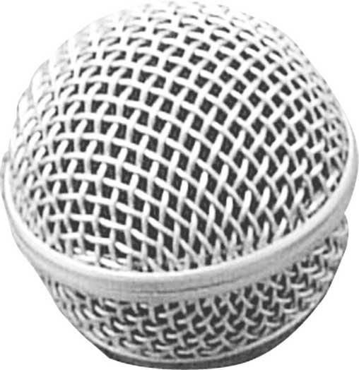 Steel Mesh Microphone Grille