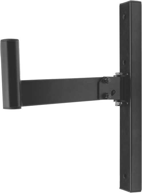 Pair of Black Wall-Mount Speaker Brackets