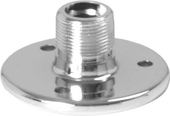 "Chrome 5/8"" Flange Mount"