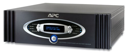 Power Conditioner with Battery Backup