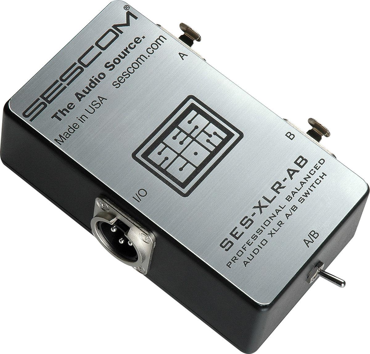 Switcher, XLR A/B