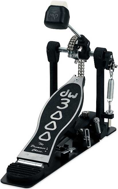 Kick Pedal, Single, 3000 Series, Dual Chain