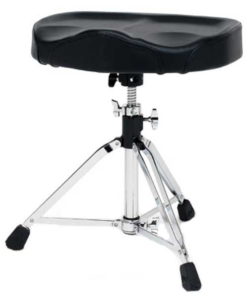 Drum Throne, Oversized Tractor Seat, Double Locking Clamp