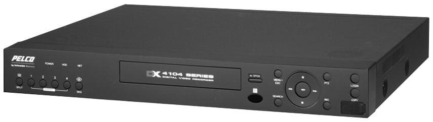 4-Channel DVR with DVD, 250 GB Internal Storage