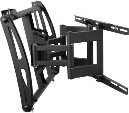 "Black Articulating Flatscreen TV Wall Mount (for 37""-63"" Screens)"