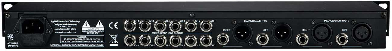 6 Channel Headphone Amp