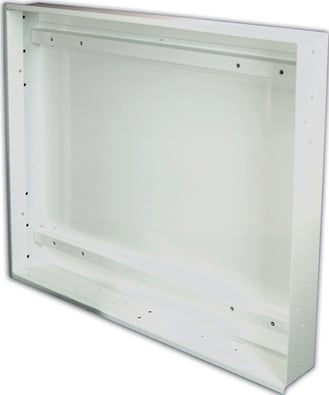 White In-Wall Mount Box for AM175, AM300