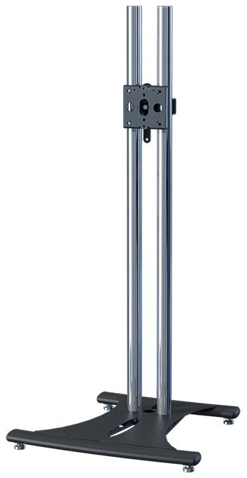 "Ellipitcal Floor Stand with 60"" Chrome Poles"
