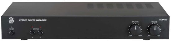 160W 2-Channel Bridged Power Amplifier