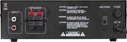 2x120W Stereo Power Amplifier