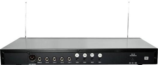 4-Channel VHF Rackmount Wireless Handheld System