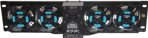 "19"" Rack Mount 4-Fan System with Display"