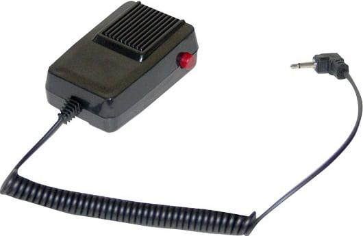 40W Megaphone with Siren & Detachable Radio-Style PTT Mic