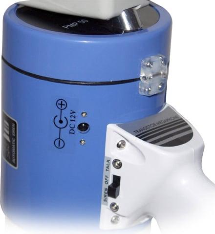 50W Piezo Dynamic Megaphone with Siren