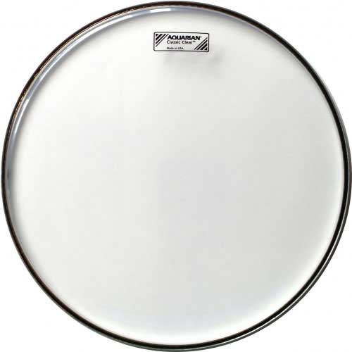"""13"""" Classic Clear Snare Side Drum Head"""