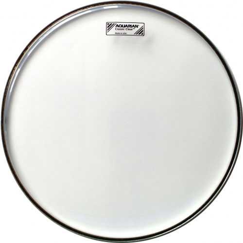 """Aquarian Drumheads CCSN13 13"""" Classic Clear Snare Side Drum Head CCSN13-AQUARIAN"""