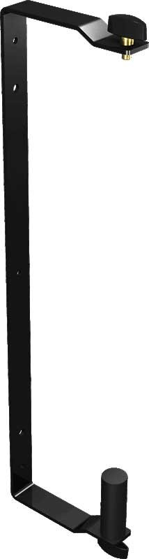 Wall Mount Bracket for Eurolive B215 Speakers, Black