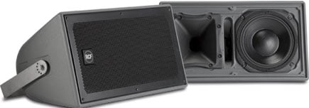 300W RMS Indoor/Outdoor Two-Way Weatherproof Speaker System with 90x60 Contstant Directivity Horn