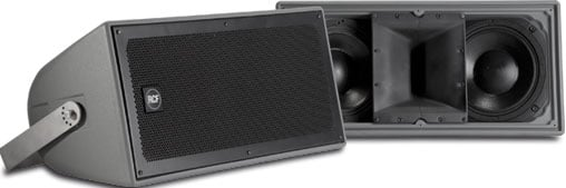 400W RMS Indoor/Outdoor Two-Way Weatherproof Speaker System with 110x60 Contstant Directivity Horn