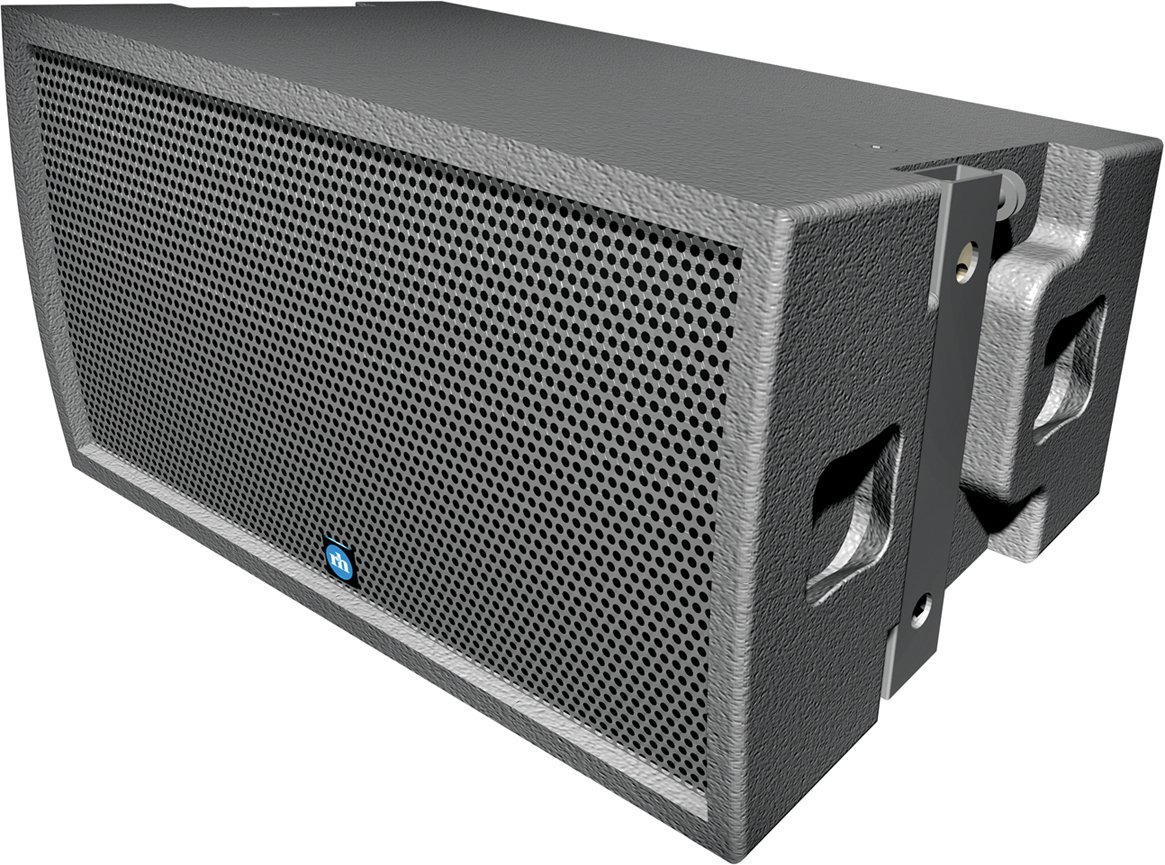 RHAON-Capable 2-Way Modular Point Source Array Module with PF2-500R Amp Module