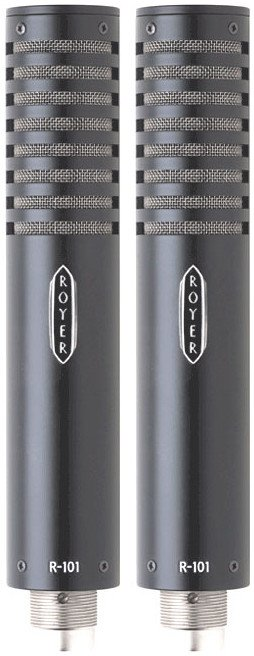 Matched Pair of R101 Mono Passive Ribbon Microphones
